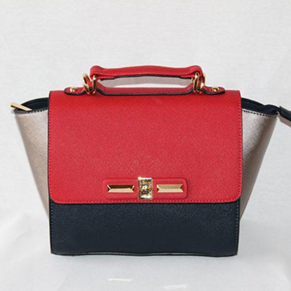 Bolso Mini City Bag Tricolor