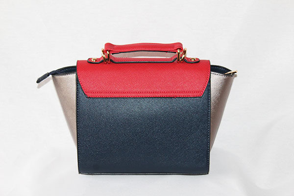 Bolso Mini City Bag Tricolor reverso