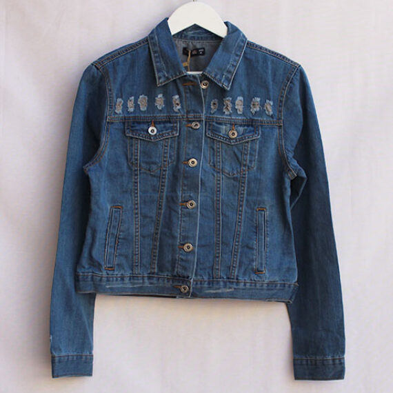 Denim Jacket ajustada